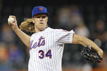 Nouveau contrat d'un an pourNoah Syndergaard avec les Mets)