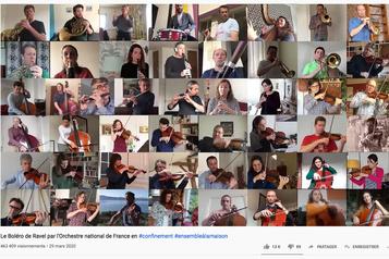 L'Orchestre national de France en télétravail: bouleversant!