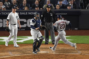 Astros-Yankees: le match no 4 reporté