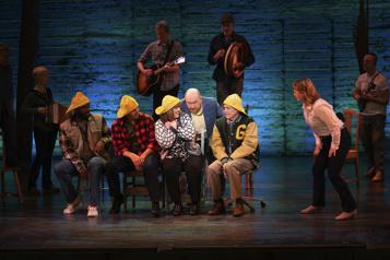 Broadway Des comédiens retrouvent les planches et l'émotion du 11-Septembre)