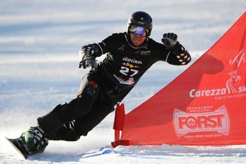 Surf des neiges Jasey-Jay Anderson et Megan Farrell éliminés par les vainqueurs)