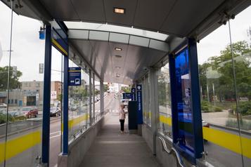 Le SRB Pie-IX se connectera au réseau électrique rue Notre-Dame