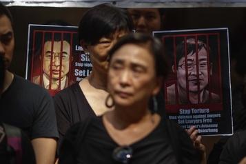 La Chine libère un célèbre avocat des droits de l'homme