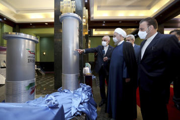 Nucléaire L'Iran inaugure de nouvelles centrifugeuses)