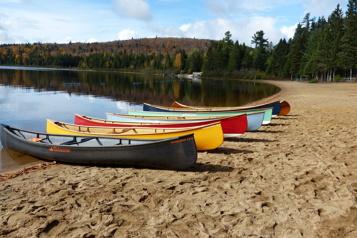 Saguenay–Lac-Saint-Jean Le canot propulsé par la pandémie)