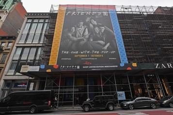 Pour ses 25ans, la série Friends s'offre un «espace éphémère» à New York