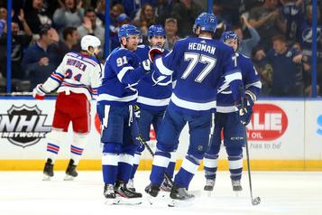 Le Lightning corrige les Rangers 9-3