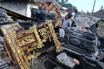 Un tremblement de terre fait trois morts et sept blessés à Bali