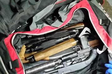 Procès de Marie-JoséeViau et de GuyDion Le policier infiltré «stupéfait» de découvrir autant d'armes à feu)