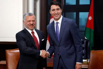 Trudeau accueille le roi Abdallah de Jordanie