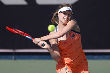 Internationaux d'Australie Eugenie Bouchard s'incline en qualifications)