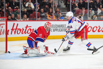 Rangers 5 - Canadien 2 (pointage final)