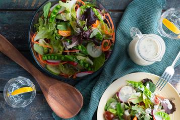 C'est l'été: (re)découvrez la salade à la crème!)