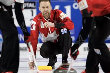 L'élite mondiale du curling masculin à Ottawa en 2021)