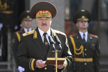 Régime Loukachenko L'UE donne le feu vert pour sanctionner la Biélorussie)