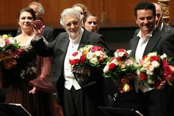 Placido Domingo ovationné au Festival de Salzbourg