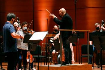 Le philharmonique de NewYork de «retour à la maison» après 18mois dans le noir)