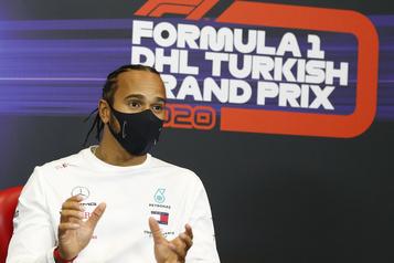 Championnat des pilotes Lewis Hamilton tout près d'un septième championnat)