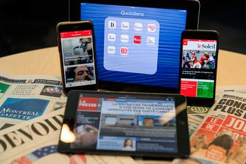 Hausse des revenus numériques des journaux en 2018