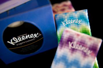 Kimberly Clark continue à profiter des ventes de mouchoirs et papier toilette)