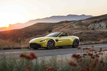 Rapides et exclusifs L'Aston Martin Vantage, agile et stimulante)