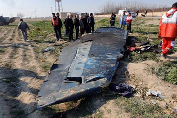 Écrasement d'avion en Iran: le Canada mène un groupe de pays réclamant une enquête