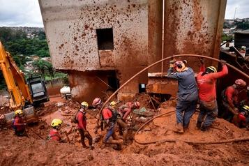 Tempête au Brésil: le bilan grimpe à 37morts