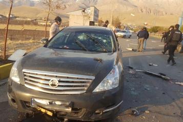 Scientifique assassiné en Iran Le président Rohani accuse Israël de vouloir semer le «chaos»)