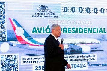Le président mexicain offre son avion au tirage au sort