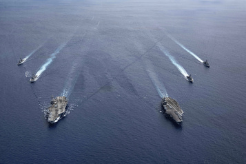 Washington juge «illégales» les revendications de Pékin en mer de Chine méridionale)