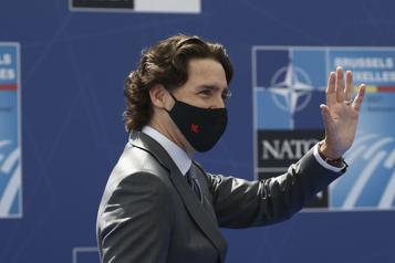 Sommet de l'OTAN Justin Trudeau dénonce la montée de l'autoritarisme)
