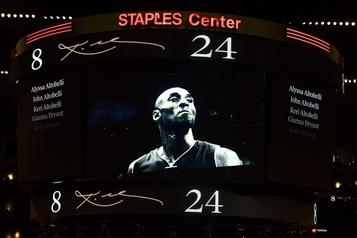 Une cérémonie en mémoire de Kobe Bryant le 24février à LosAngeles