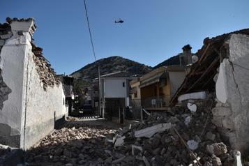 Nouveau séisme dans le centre de la Grèce )