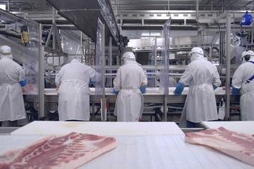 Éclosion de COVID-19 à Vallée-Jonction «La situation est très difficile et préoccupante» à l'usine Olymel )