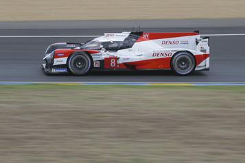 Troisième victoire consécutive de Toyota aux 24heures du Mans)