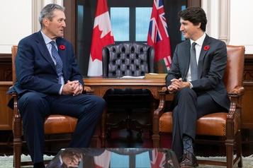 Justin Trudeau rencontre Brian Pallister lundi