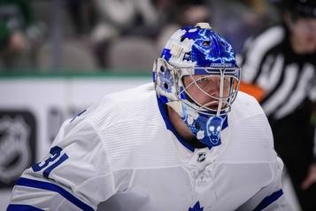 Maple Leafs: Frederik Andersen s'est isolé à Toronto)
