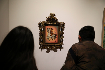 Mexique: un tableau de Zapata nu et féminisé fait polémique