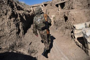 Haut-Karabakh  De la technologie canadienne découverte à bord d'un drone abattu par l'Arménie)