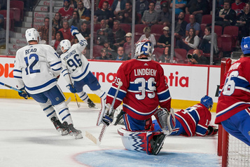 Les Maple Leafs battent le Canadien 3-0