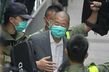 HongKong gèle les actifs du patron de presse prodémocratie Jimmy Lai)