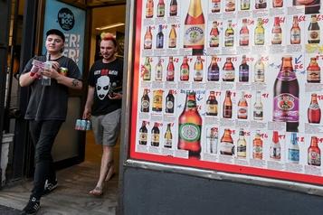Australie: les ventes de vin et bière restreintes