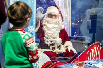 Contacter le père Noël… sans contact)