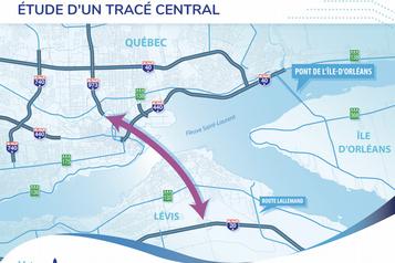 Le troisième lien pourrait sortir au centre-ville de Québec