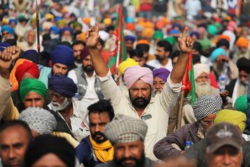 Soutien aux agriculteurs indiens Trudeau fait peu de cas de la réprimande de l'Inde)