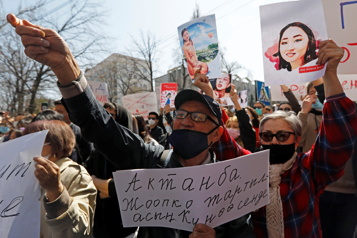 Kirghizstan Tollé après le meurtre d'une femme enlevée en vue d'un mariage forcé)