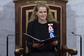 Discours du Trône: le gouvernement Trudeau tend la main à ses adversaires
