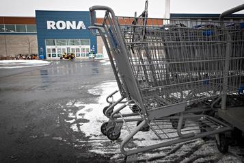 Rona et le Canada continuent de coûter cher à Lowe's