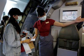 Taïwan: des embarquements simulés pour les nostalgiques du voyage)