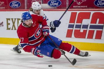 Série Canadien-Maple Leafs Josh Anderson à l'assaut des probabilités)